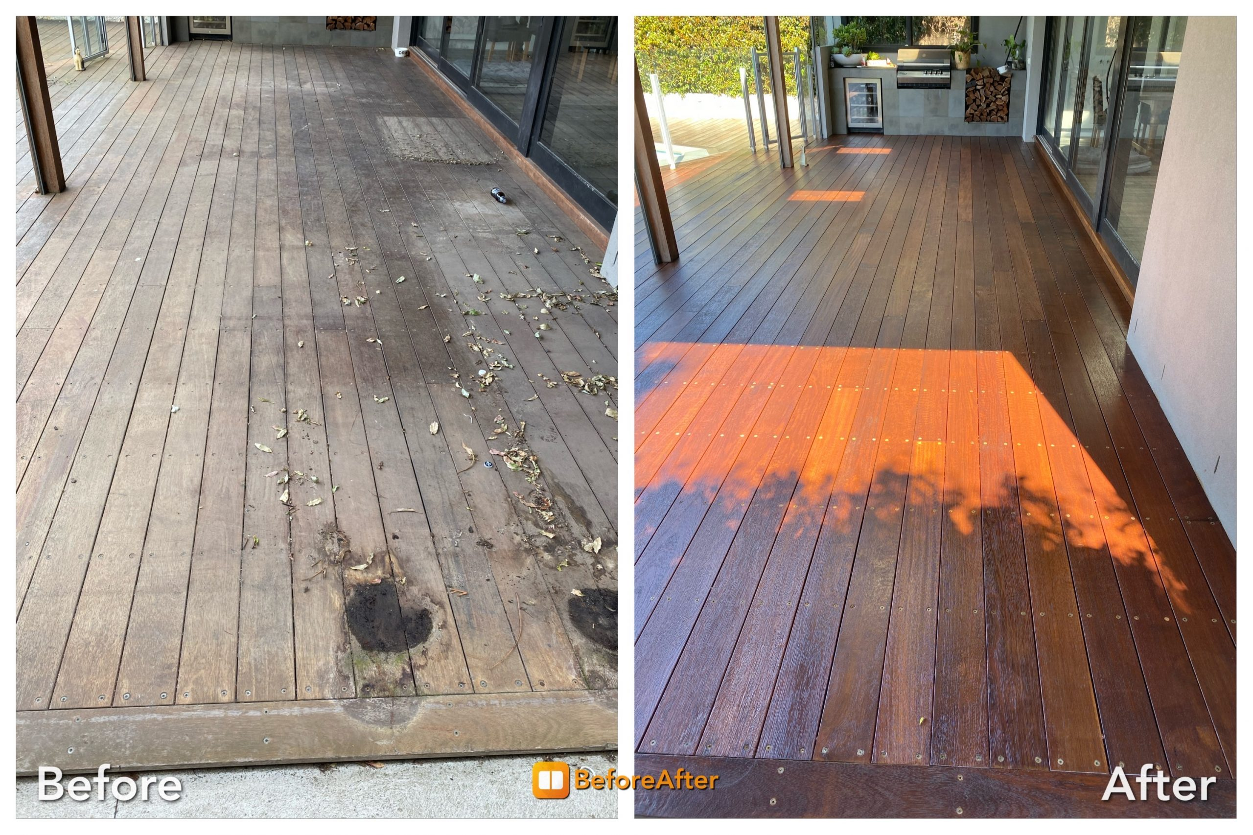 deck restoration sanding and refinishing